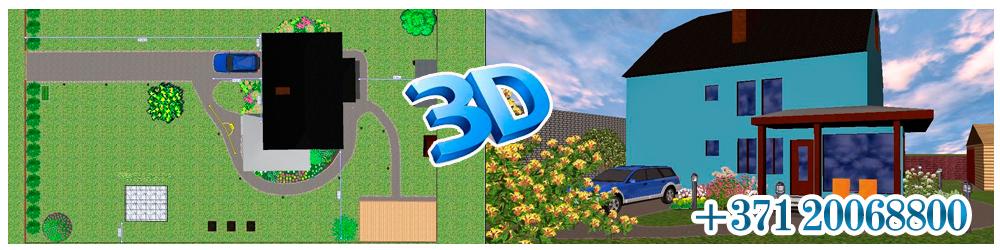 3D-jurmalagarden
